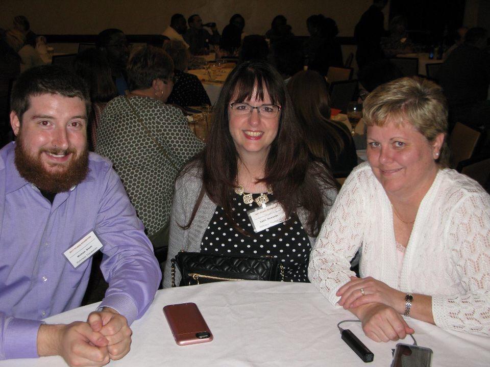 Mike, Laura, Nancy Harvey of CTH